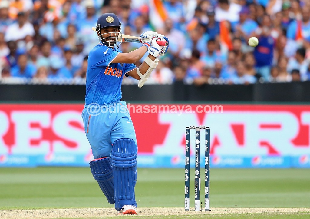 Timing, placement does it for Rahane!!