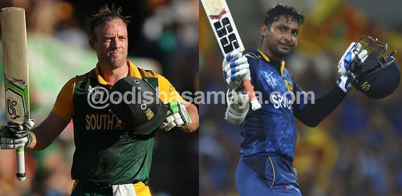 Batting Supremacy battle between De Villiers and Sangakkara in first Quarter-final