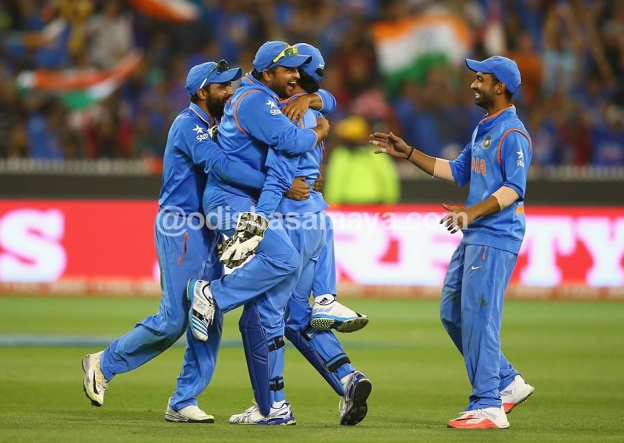 Defending Champs in Semis, Beat B'desh by 109 runs