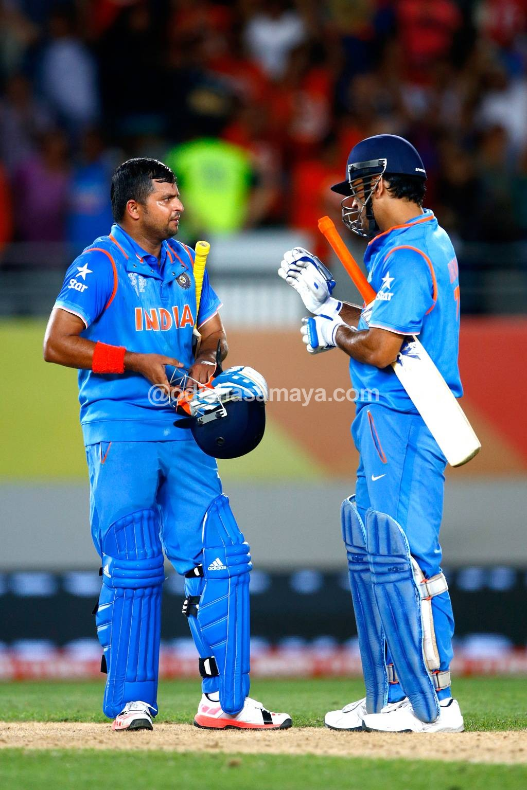 """Happy to play the role of mentor while playing with Raina"""
