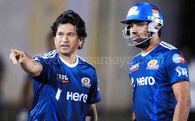 Rohit is far better captain today than yesterday, praises Master Blaster