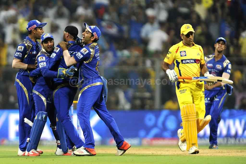 Turbanator Turns the game as Mumbai Through To IPL Final