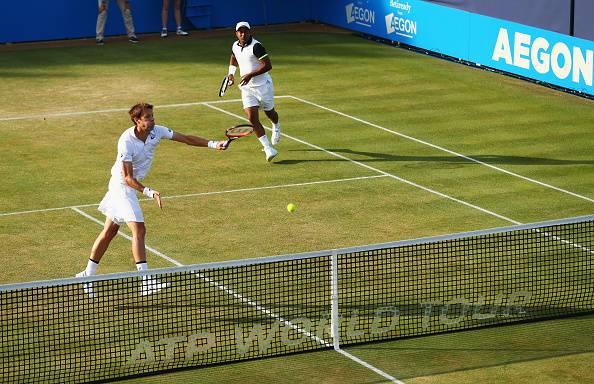 ATP Aegon Championships: Paes-Nestor through to Semis, Knockout Nadal-Lopez