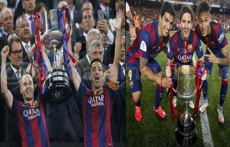 Barca Lifts Copa Del Rey, Messi scores Twice