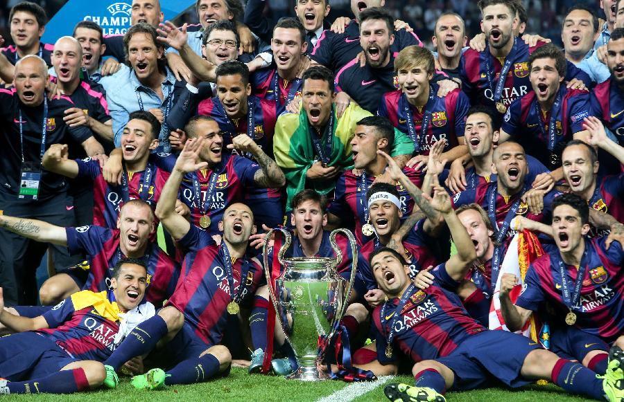 Barcelona enlightened in Berlin, Claims Fifth UEFA Championship