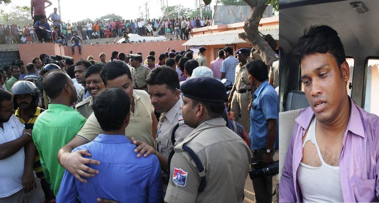 Bhubaneswar: RPF IIC tries to hide his Guiltiness, attacks Newsman