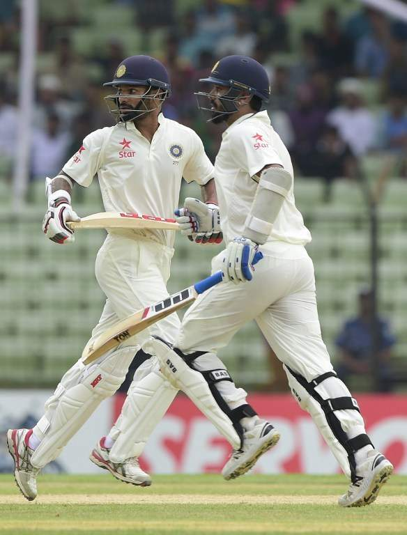 Dhawan, Vijay Put India on Command, Scores 239/0 on Day-1