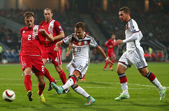 Germany to Take on Gibraltar Today