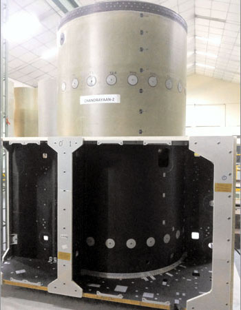 HAL Delivers Orbiter spacecraft module structure to ISRO