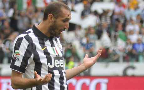 Huge Blow to Juventus as Chiellini Ruled Out of Champions League Final