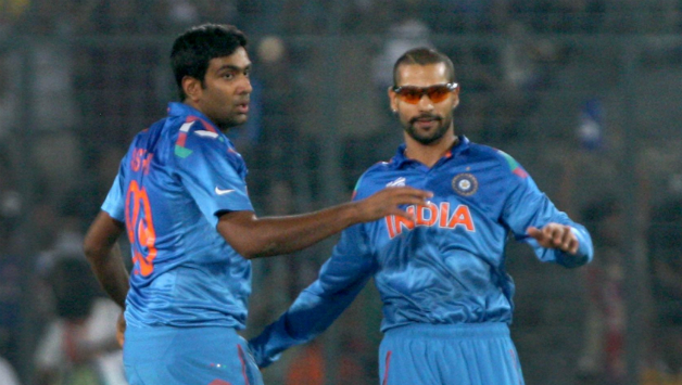 ICC Rankings: Ashwin Jumps to 10th Slot, Dhawan drops a place to 7th