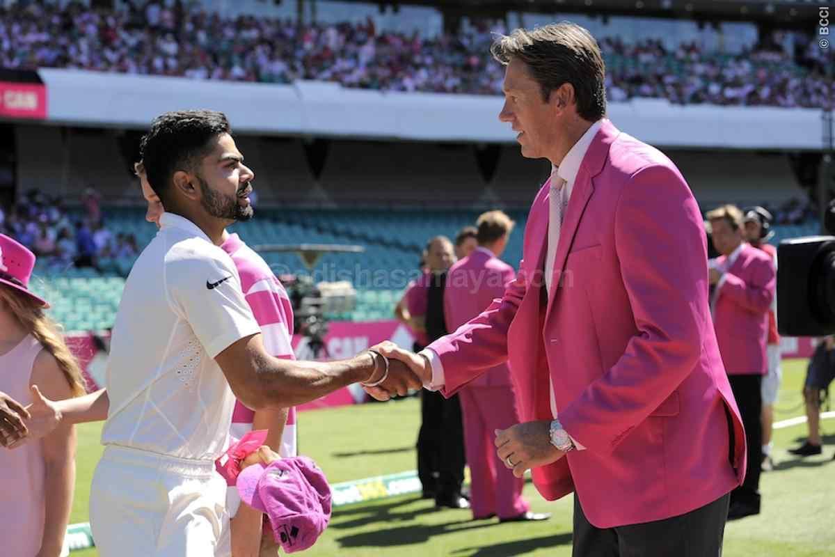 McGrath praises Virat, Says India in Good Hands in Tests