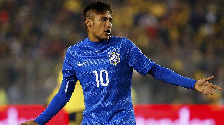 Neymar Jr. To miss Last Group Game against Venezuela