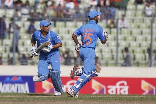 The way Dhoni adapts to various situations makes my cricket easier: Shikhar Dhawan