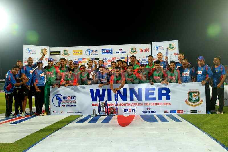 After Hunting Pakistan and India, Giant-Slayers Bangladesh Hunts Down The Proteas 2-1
