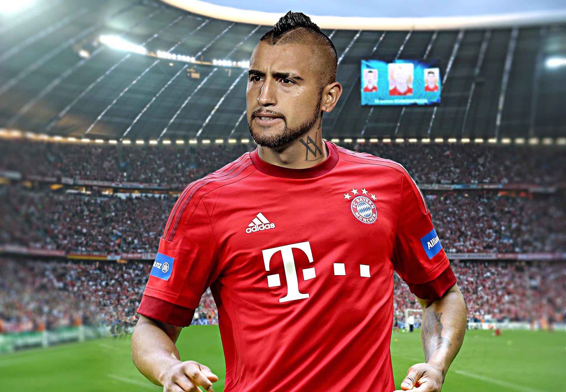 Arturo Vidal sets to Wear Bayern Munich Jersey, Leaves Juventus