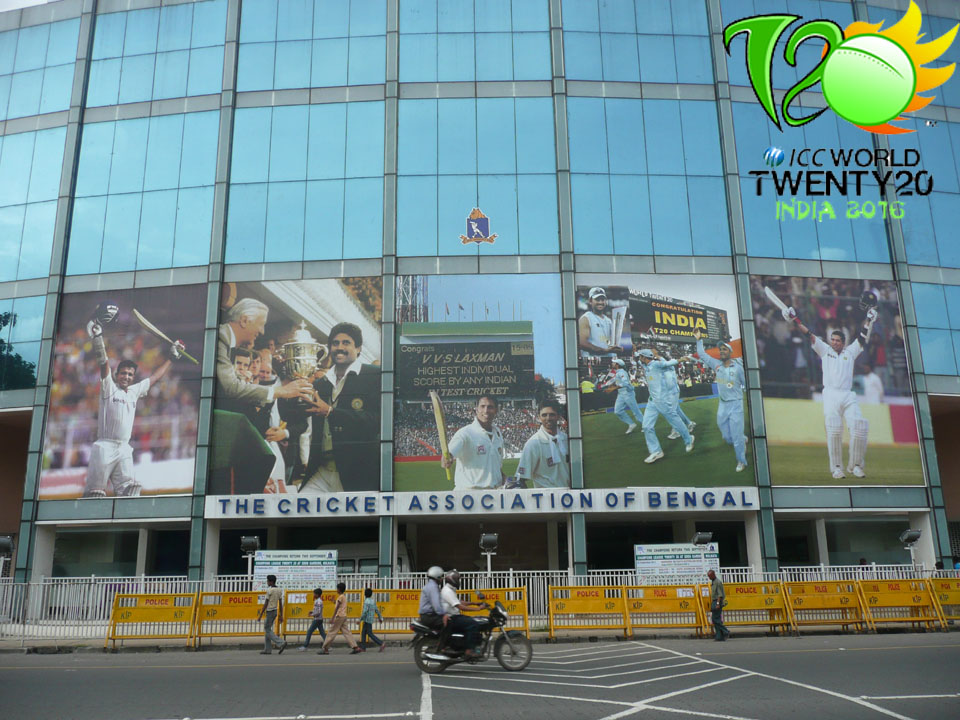BCCI Announces ICC World T20 Venues, Eden Gardens to Host Final