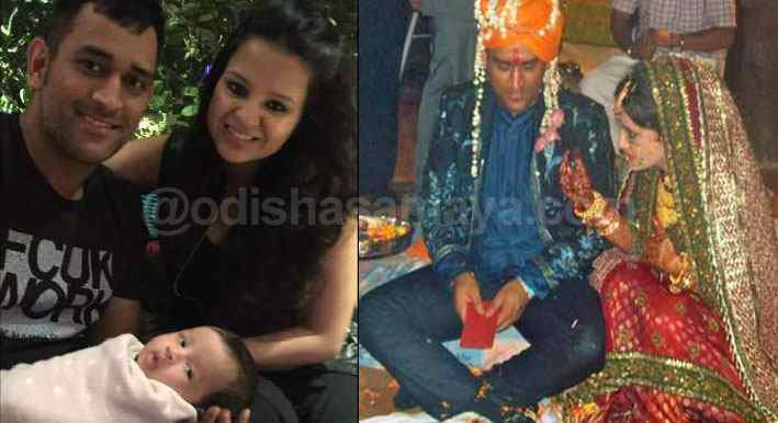 Captain Cool celebrates his 5th Wedding Anniversary with Wife Sakshi