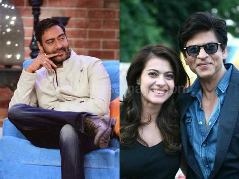Happy to see SRK and Kajol together on-screen, Says Ajay Devgn