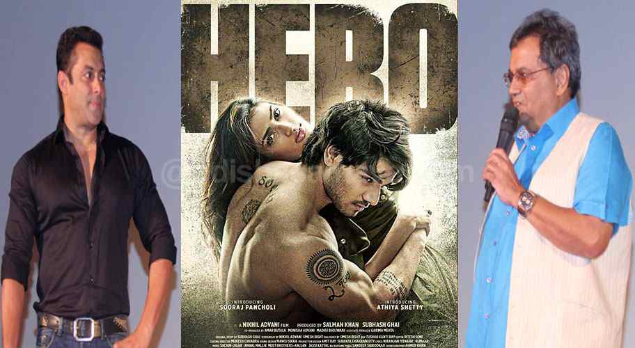 Huge Applause to Salman for taking Producing-Risk for 30yr old 'Hero' Remake: Subhash Ghai
