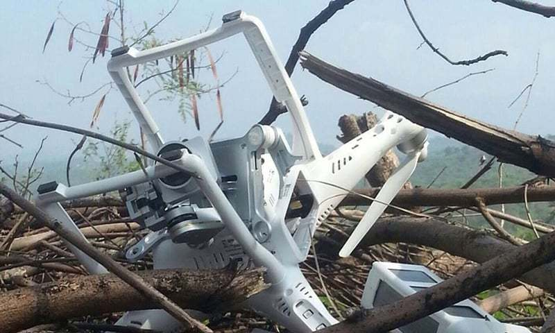 Indian Spy Drone that shot down by Pak Army was made by China, Claims Chinese Media