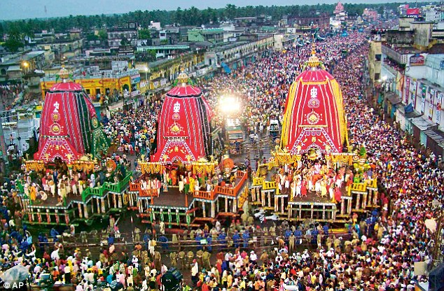 Puri: Two Killed, 20 Injured in Stampede During Rath Yatra