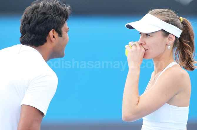 Wimbledon: Indo-Swiss Mix-Doubles Pair advances to Quarters