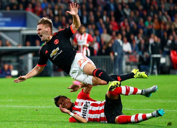 UCL: Double Blow For Red Devils, Loses Match And Defender Luke Shaw