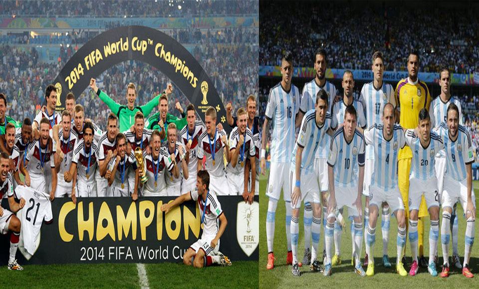 FIFA Ranking: Germany Climbs Up To 2nd, Argentina Remains at Top
