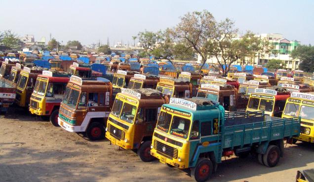 Truckers' Bodies On Indefinite Nationwide Strike