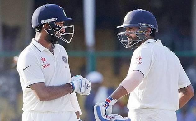 Vijay-Pujara breaks India's all-time partnership record