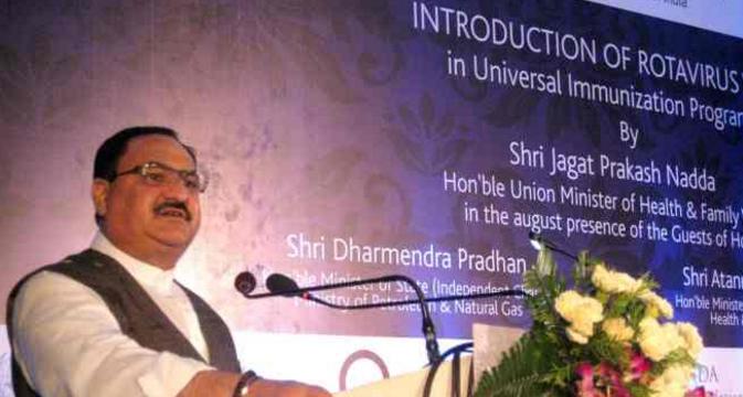 Health Minister J.P. Nadda