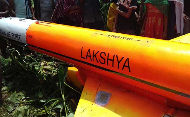 Indian Air Force UAV Lakshya Crashes During Trial In Odisha