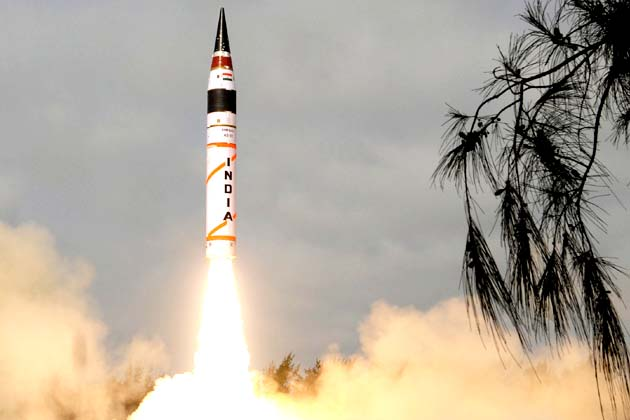 India Fires Agni-II In Back-to-Back Missile Tests