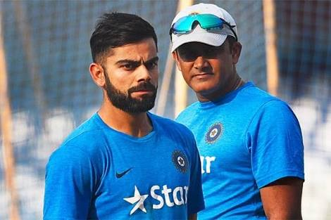 For now, Kumble is in safe zone