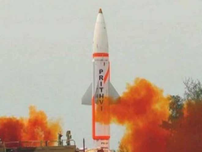 India test fires Prithvi II missile at Chandipur in Odisha