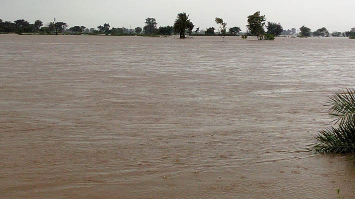 Flood situation grim in Aul; several villages inundated
