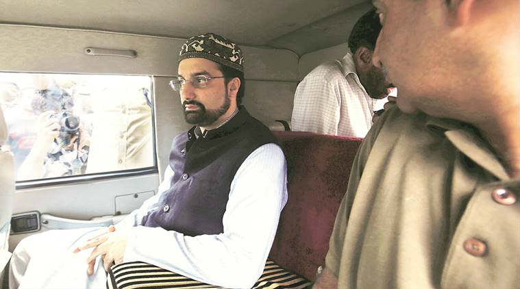 Security cover of Mirwaiz Umar Farooq reduced