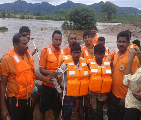 Odisha's Nagavali flood calms down but more deluge in store