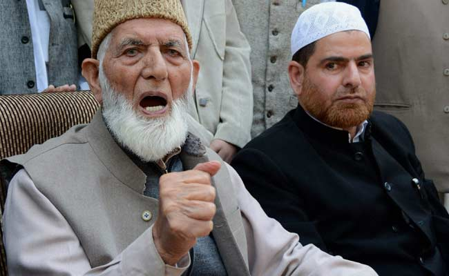 Indian NIA arrests seven Hurriyat leaders in IOK