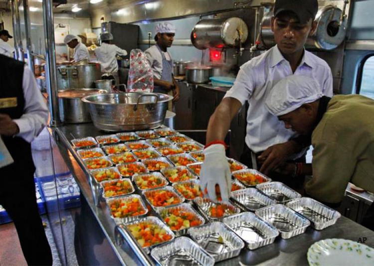 Railways Pulled Up For Serving Foodstuff 'Unsuitable' For Consumption