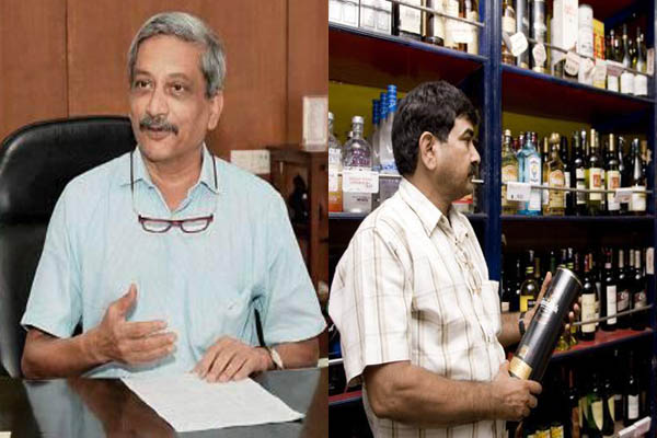 Goa CM Manohar Parrikar files nomination for Panaji bypoll