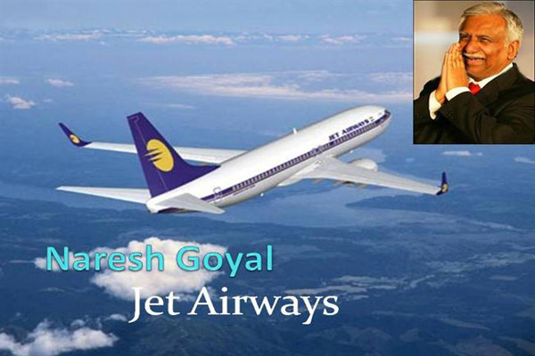jet airways by naresh goyal Jet airways completes leasing, takes delivery of 8th boeing 737 with the induction of the eighth and the last b737 next generation plane on monday, jet airways.