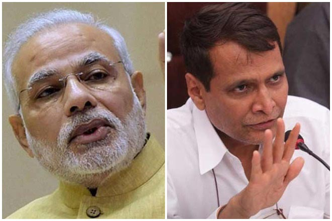 Modi should sack Prabhu: Congress