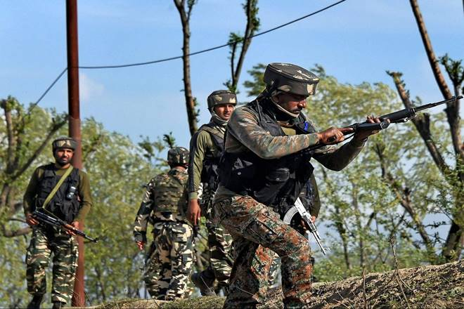 Two terrorists gunned down in Kashmir's Kulgam district