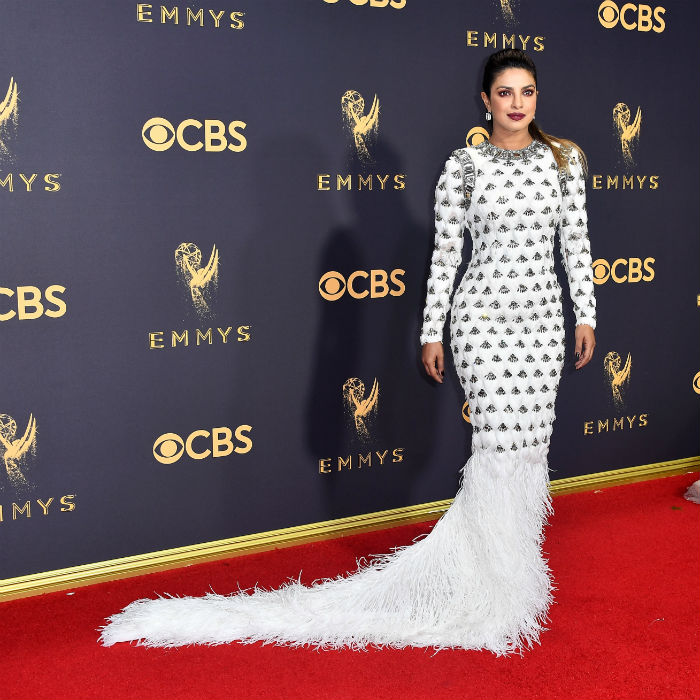 Priyanka Chopra plays it safe at Emmys 2017, still manages to look uber-hot