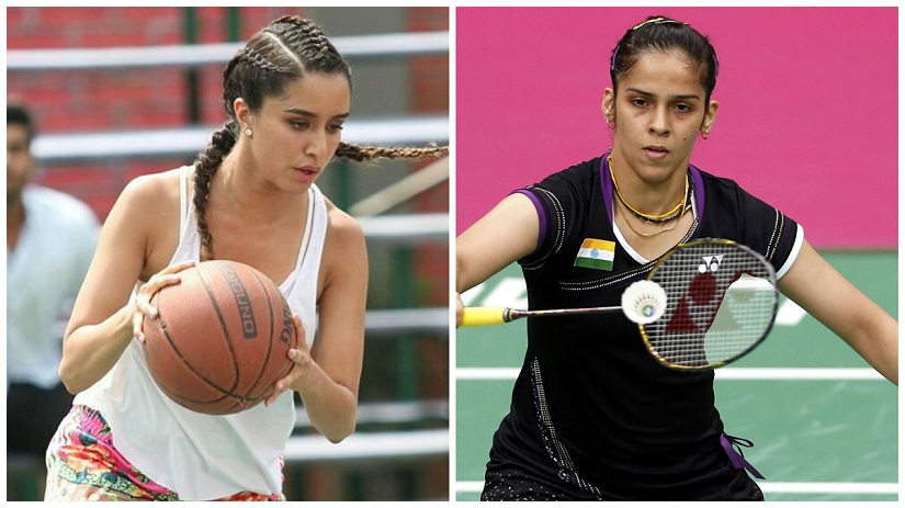 See pic: Saina Nehwal gives Shraddha Kapoor badminton tips for biopic
