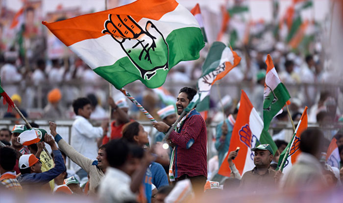 Congress leads in MP by-election