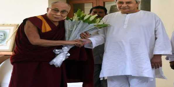 Dalai Lama all praise for Odisha CM