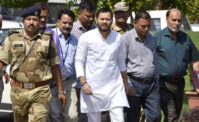 Tejashwi Yadav grilled by ED for nine hrs in Laundering case